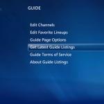 Media Center Quick Tip – Manually Refreshing Electronic Program Guide Data