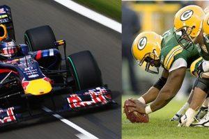 Formula 1 vs the NFL