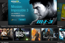 Amazon Releases iPad Instant Video App