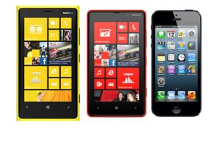 Comparing the New Lumia(s) and iPhone