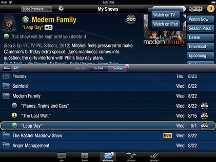 TiVo Adds Streaming, Offline Viewing to Mobile Apps | The