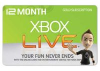 Save Big on Xbox Live Gold Subscription