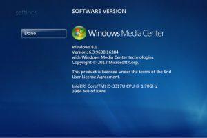Updating Windows 8 to 8.1 Removes Windows Media Center