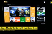 Using the Xbox One with Windows Media Center