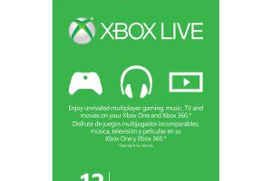 One Year of Xbox Live Gold for Only $39.99