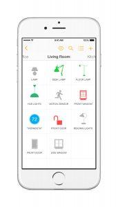 Insteon app - Devices