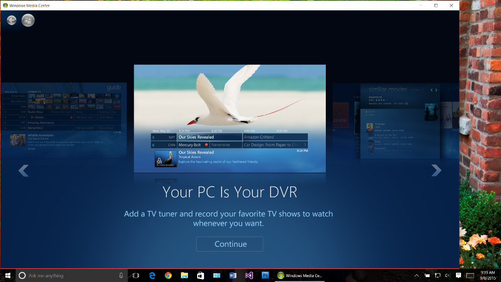 You Can Now Install Windows Media Center on Windows 10, but You