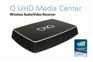 Axiim Q UHD Media Center Receives CES Innovation Award