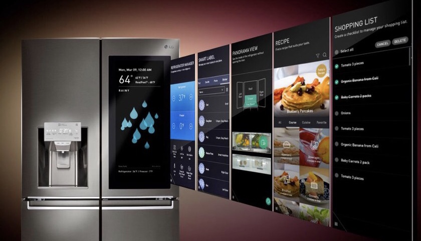 Large Touchscreens for All Your Appliances