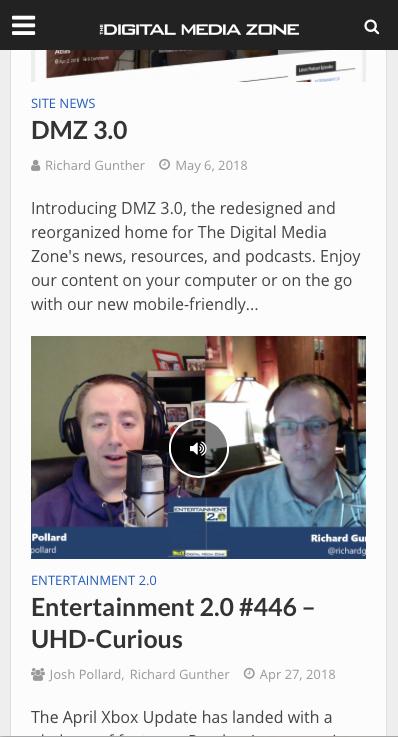 Introducing DMZ 3.0
