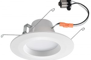 Home Depot Offers Color-changing LED Downlight for Beginners