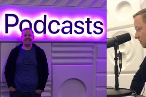 Adam Justice at the WWDC Podcast Studio