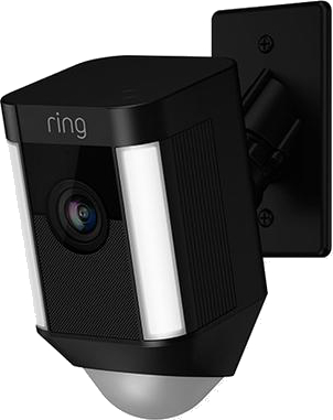 Ring Spotlight Cam Mount is a hardwired security cam