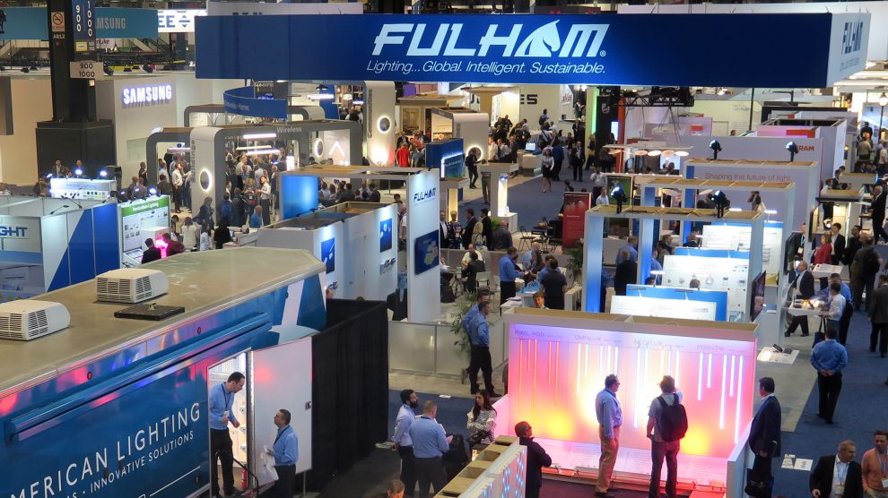Lightfair 2018 view from above
