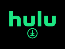 Download logo below the Hulu logo