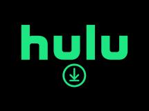 Download logo below the Hulu logo