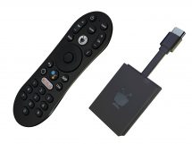 The TiVo Stream 4K and remote control