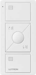 Lutron's Pico remote for Serena wood blinds