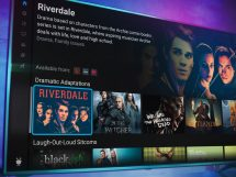 TiVo Stream 4K showing program information for Riverdale