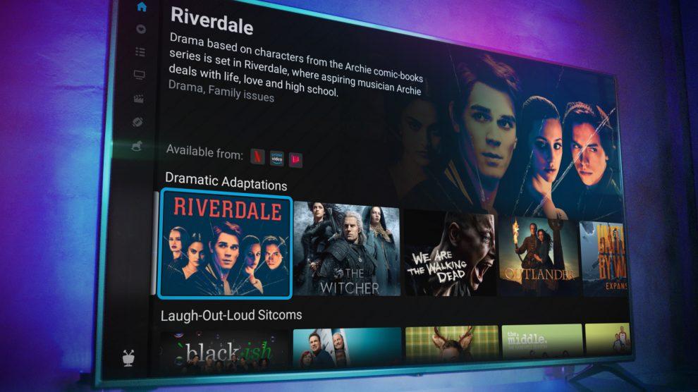 TiVo Stream 4K showing program information for Riverdale