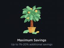 Eco+ savings