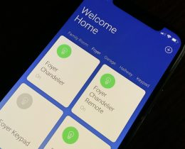 New Insteon App showing devices in the Foyer