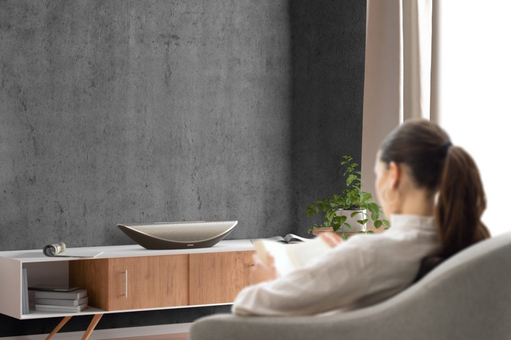 Cleer Launches Gorgeous Crescent Speaker and Truly Wireless Headphones
